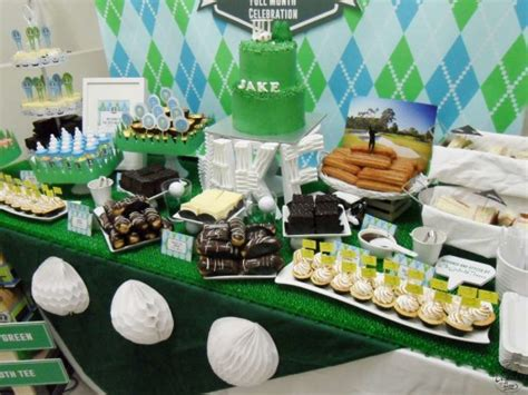 Golf Themed Baby Shower by Masters Tournament Baby Shower Baby Shower Ideas