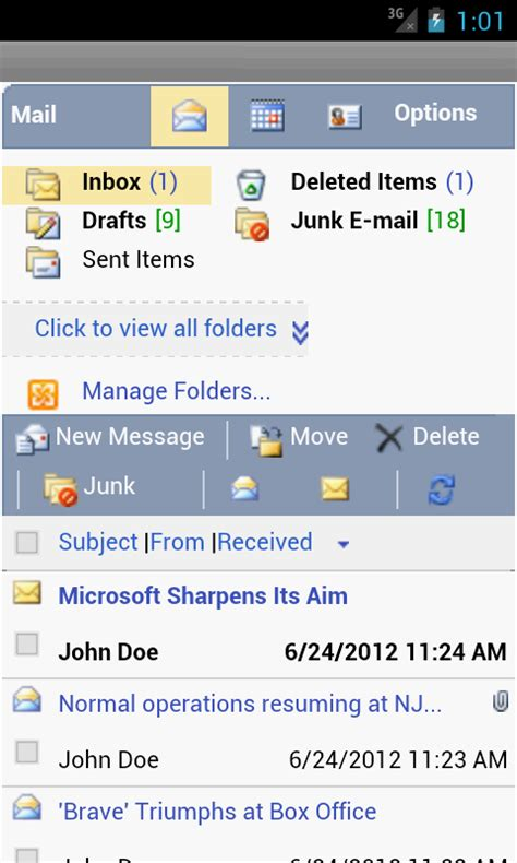 email owa owm for outlook email owa apps para android no google play
