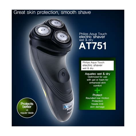 Philips At751 Shaver aquatouch electric shaver diydry co