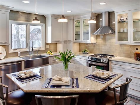 Eat In Island Kitchen by Contemporary Kitchens Hgtv