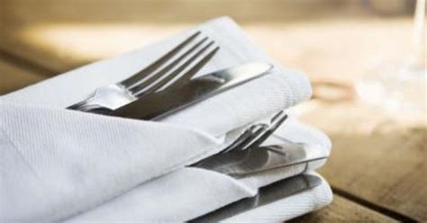 how to fold paper napkins with silverware napkins