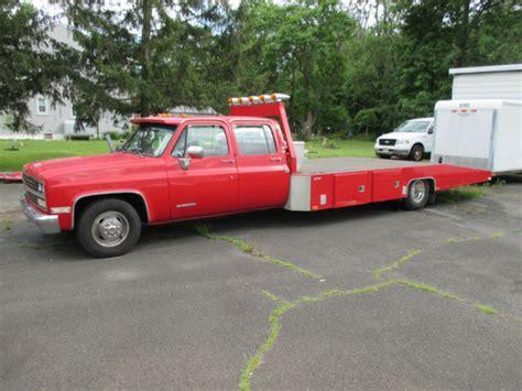 truck bed cer for sale 1989 chevrolet 3500 crew cab silverado r truck flatbed