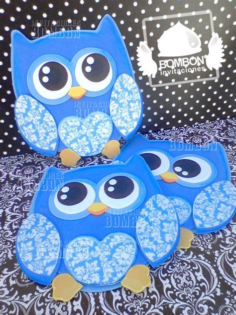 fotos de buhos hechos con fomi owl buho wallart baby blue brown damask baby fomy