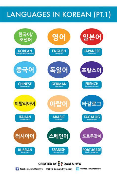 vocabulary hair colors in korean learn korean languages in korean learn basic korean