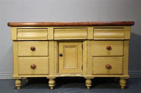 Vintage Kitchen Dresser by Country Antique Painted Pine Kitchen Dresser Base