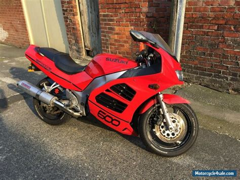 Suzuki Cbr 600 For Sale 1997 Suzuki Rf 600 Rv For Sale In United Kingdom