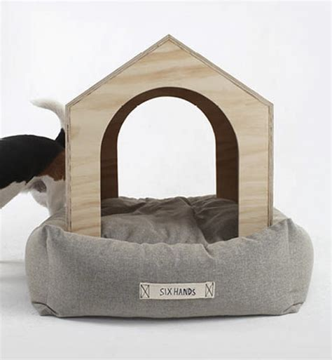 Luxury Dog House And Bed Of Natural Materials Digsdigs