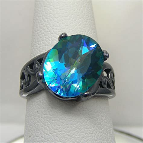 Mistic Quart the gallery for gt unique colored engagement rings