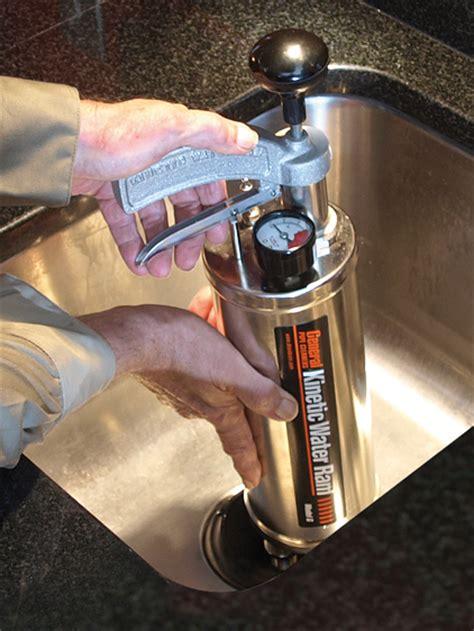 kinetic ram kinetic water ram general pipe cleaners