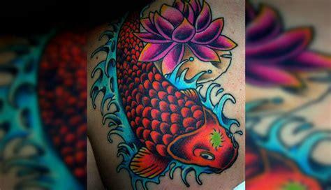 tattoo pescado koi significado tatuajes con significado 191 que representa el milenario pez