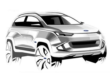 Ford Mach 1 2020 by Ford Mach 1 Crossover To Be Unveiled By 2020 Autocar India