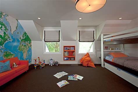 boys bunk beds contemporary boy s room melanie morris design