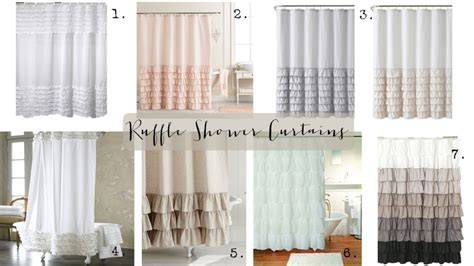 Feminine Shower Curtains Curtains Joanna Gaines Decorate The House With Beautiful Curtains