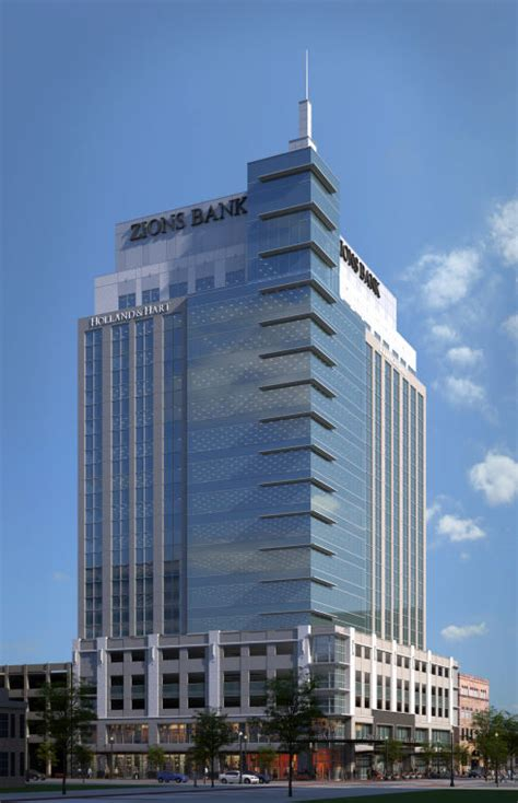 zions bank zions bank tower grand opening announced idaho press