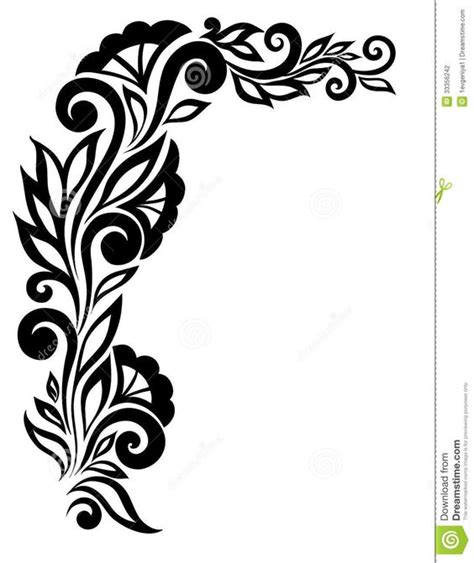 patterns black and white border black and white border designs for projects google