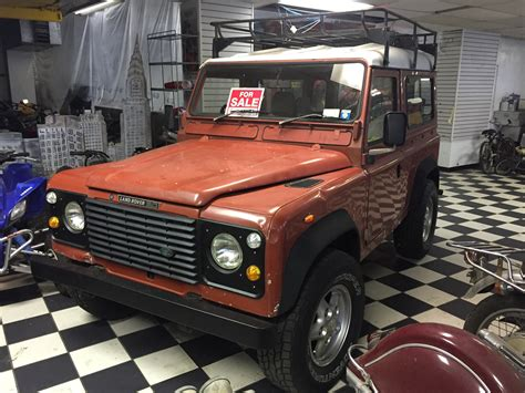 land rover garage 1988 land rover defender 90 outback garage independent