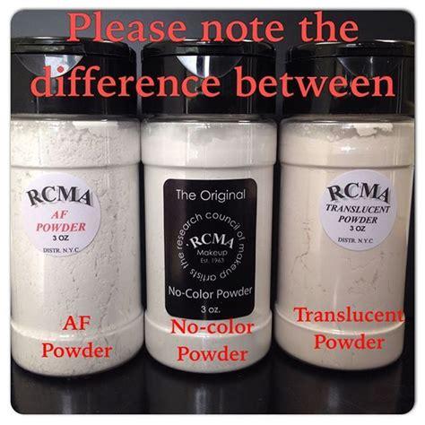 rcma no color powder ingredients 25 best ideas about rcma makeup on