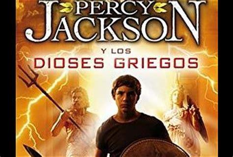 libro percy jackson los dioses rese 241 a percy jackson y los dioses griegos rick riordan paperblog