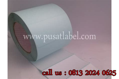 Label Barcode Semicoated 32 X 18 3 Line Gap 1 Isi 5000 Label label barcode jual label barcode pusat label barcode