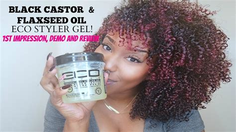 styling gel que significa black castor and flaxseed oil eco styler gel review and