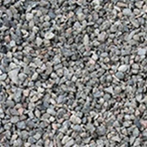 pea gravel gray detail