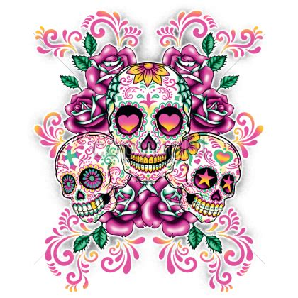 wild side heat transfers latin sugar skulls