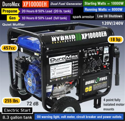 propane powered home generator reviews