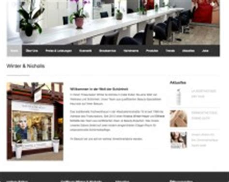 Friseur Lohmar Referenzen Homepages Amp Online Marketing K 246 Ln
