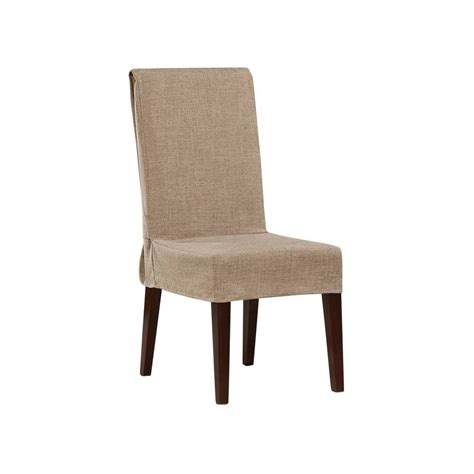 S Linens Dining Room Chair Covers Textured Linen Dining Room Chair Slipcover Sure