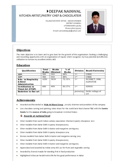 Resume Docx by Deepaks Resume 2015 Docx 3pgs