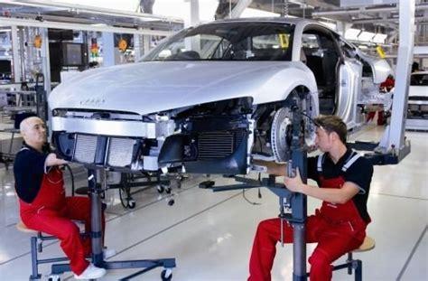 Bandarbeiter Audi by Wirtschaft Arbeitsplatz Der Zukunft Altert Mit Web