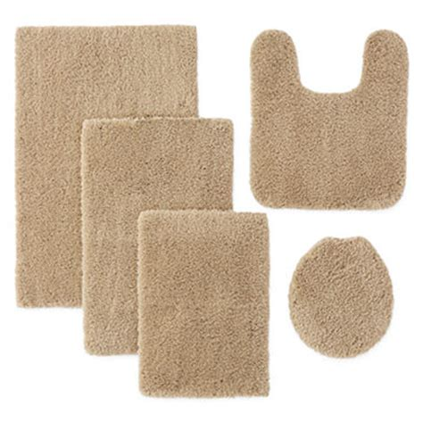 Jc Penney Bathroom Rugs Jcpenney Home Drylon Microfiber Bath Rug Collection Jcpenney