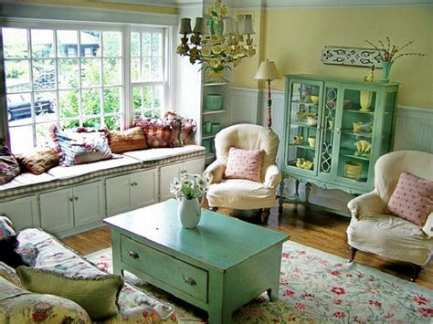 At The Cottage Decorating With - cottage living room decorating ideas country cottage