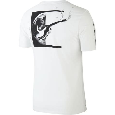 T Shirt Nike Basket t shirt nike basketball white black basket4ballers