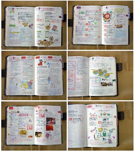 design my journal trying to make the week on two pages attractive