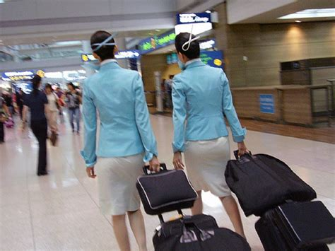 Korean Air Cabin Crew by Passengers Like To Capture The Crew World