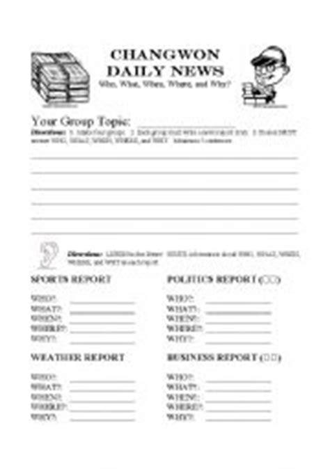 English teaching worksheets: The news