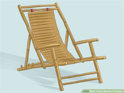how to buy bamboo furniture 9 steps with pictures wikihow