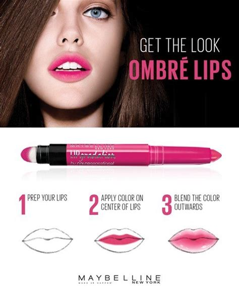 Maybelline Ombre new maybelline color sensational lip gradation