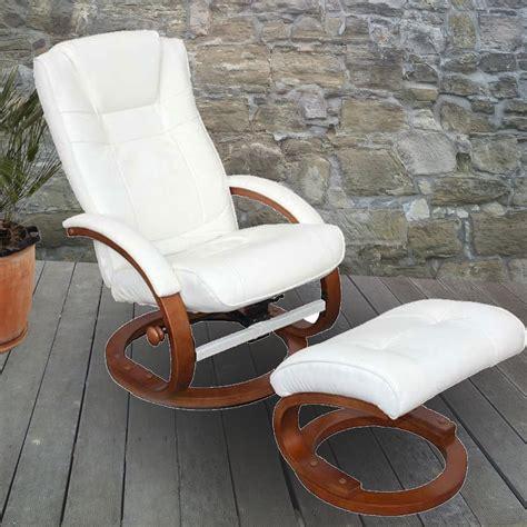 sillon jardin reclinable blanco sill 243 n relax reclinable pescatori tapizado en piel color