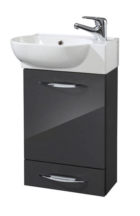 Badmöbel Set Gäste Wc Oporto Spiegel Waschbecken Waschtisch 40 Cm by Waschtisch 45 Cm Breit Bestseller Shop F 252 R M 246 Bel Und