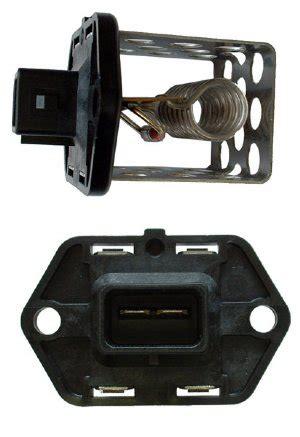 ford radiator fan resistor for '00 04 zetec/svt focus