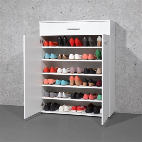 white shoe cabinet with doors stewart shoe storage cabinet in white with 2 doors 23862