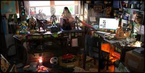 Tiny Home Interior by Geek Room By Oscarperez Scenes 3dtotal Com