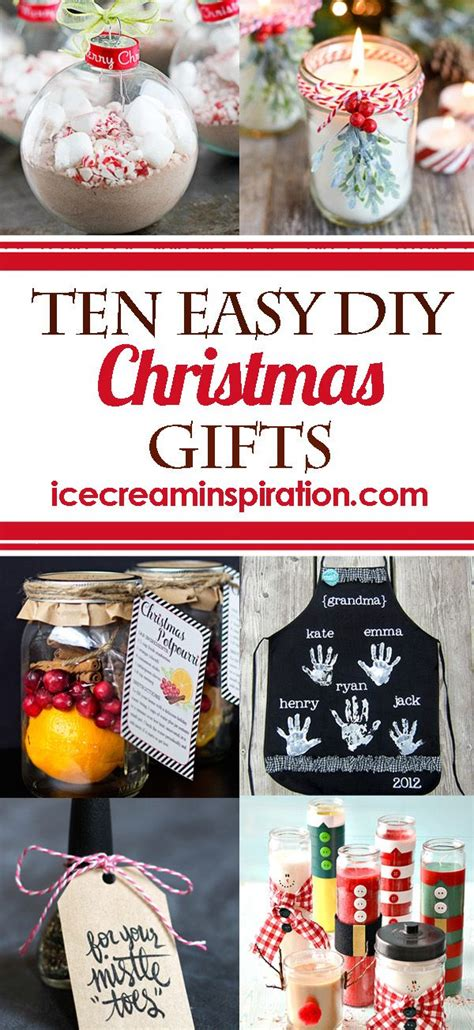 10 easy christmas gifts to make top 25 best ideas ideas on gifts crafts