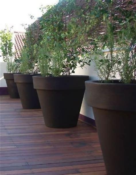 vasi per terrazzi in resina vasi in resina da esterno vasi e fioriere vasi per