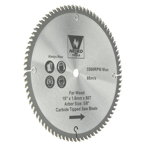 8 Table Saw Blade by Table Saw Blades For Wood Carbide Tipped 10 Quot Inch X 80