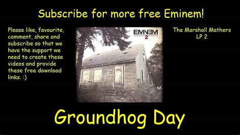 groundhog day eminem eminem groundhog day hd free