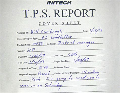 tps report template advantages of owning your own business business insider