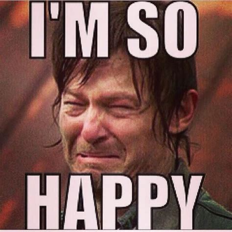 Ugly Cry Meme - daryl dixon crying face and faces on pinterest